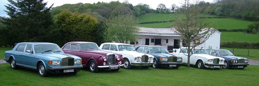 Rolls-Royce and Bentley from Cardiff, London, Carmarthen, Swansea, Bridgend, And Pembrokeshire.